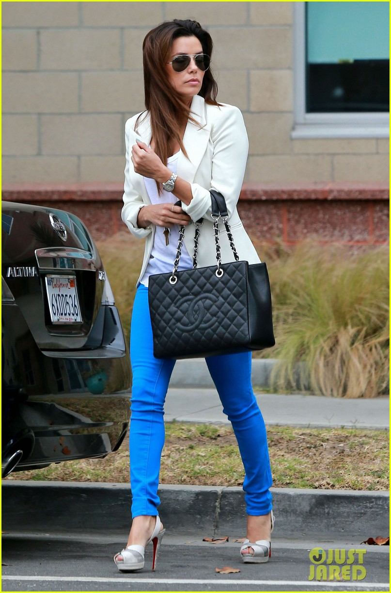 eva longoria errands before food chains fundraiser 21