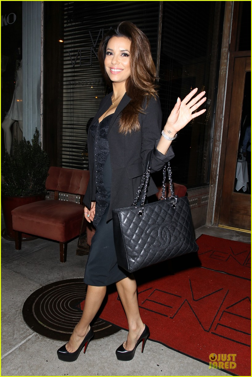 eva longoria san antonio spurs dinner 252859006