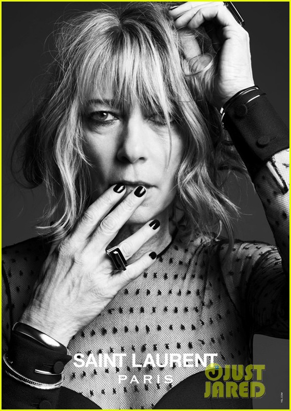 courtney love marilyn manson st laurent music project campaign 072842614