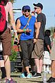 kellan lutz shirtless clothes change at coachella 08