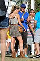 kellan lutz shirtless clothes change at coachella 15
