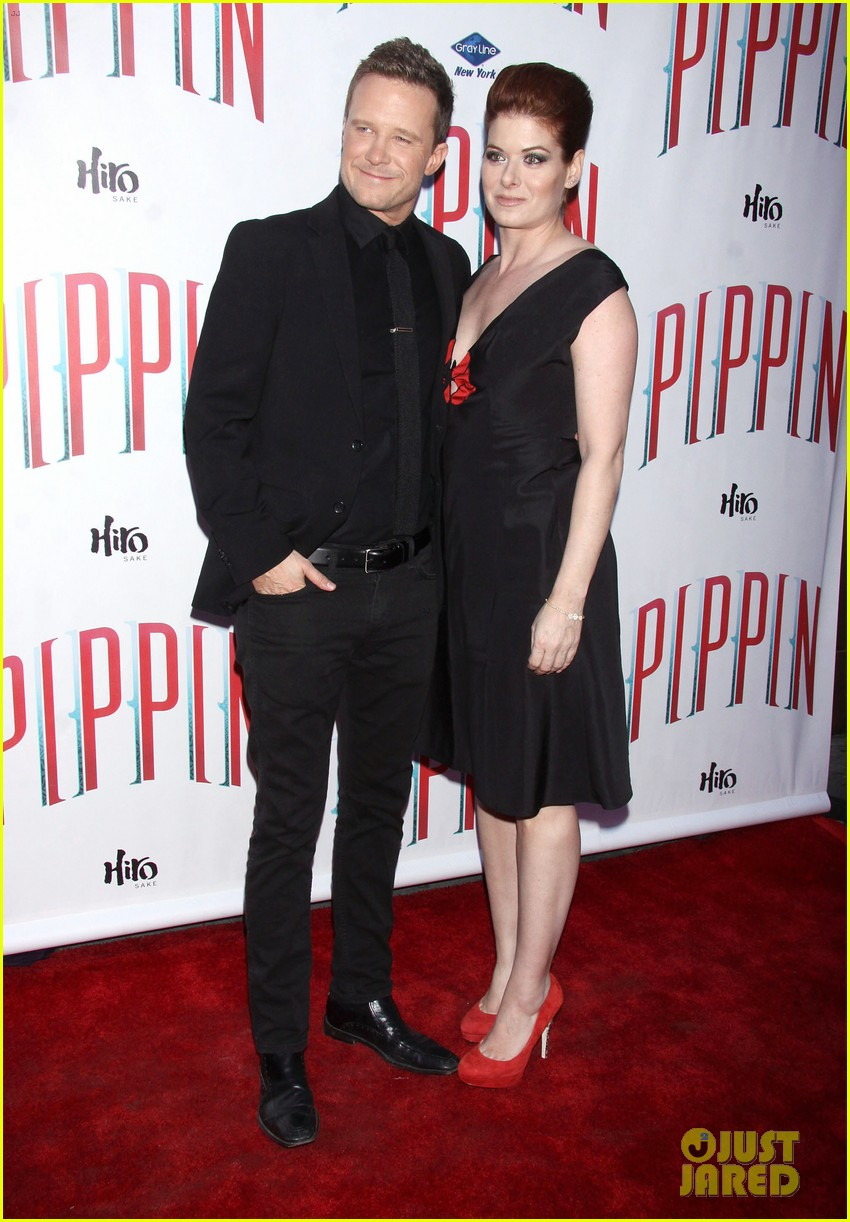 ricky martin debra messing pippin broadway opening 11