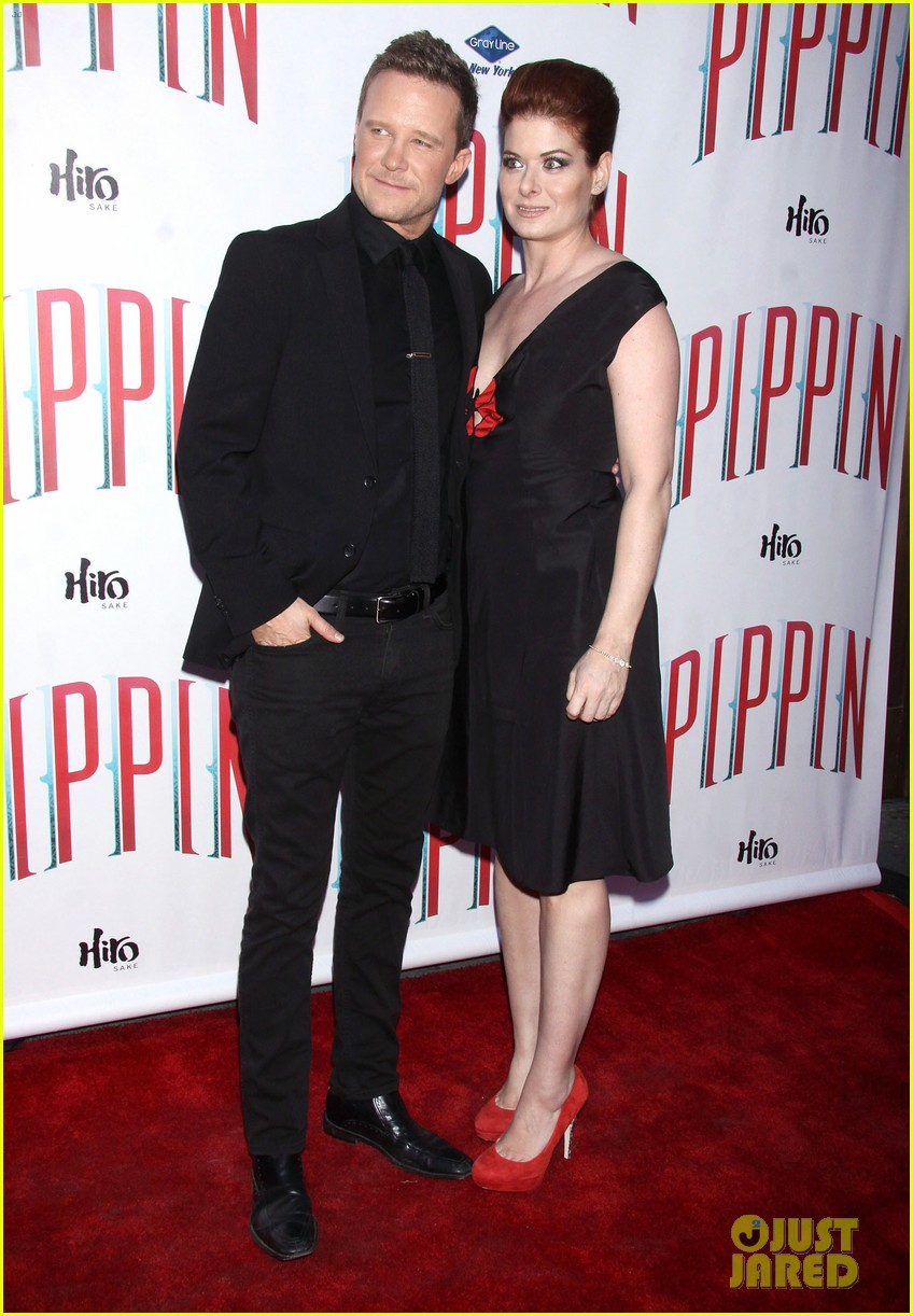 ricky martin debra messing pippin broadway opening 12