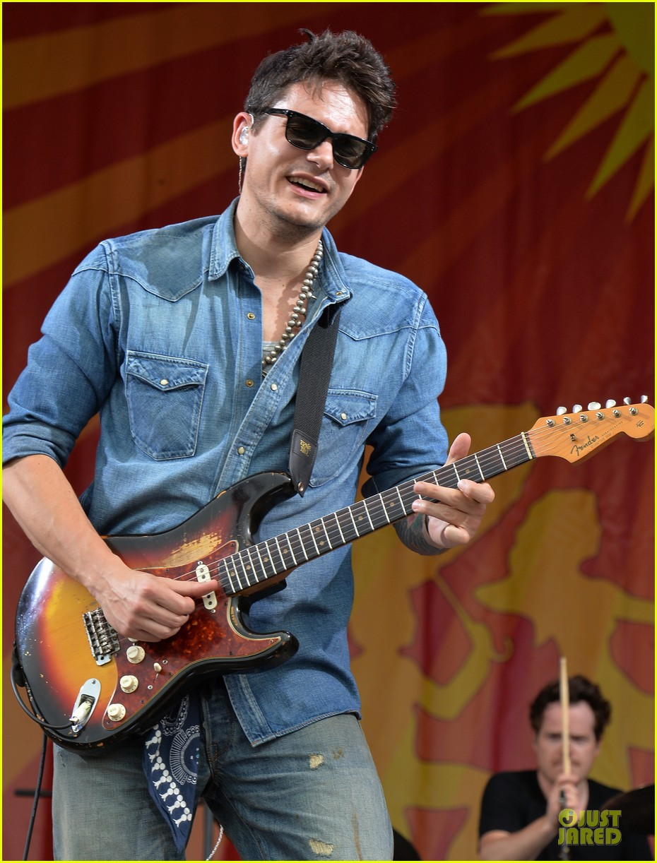 john mayer new orleans jazz heritage music festival 102859250