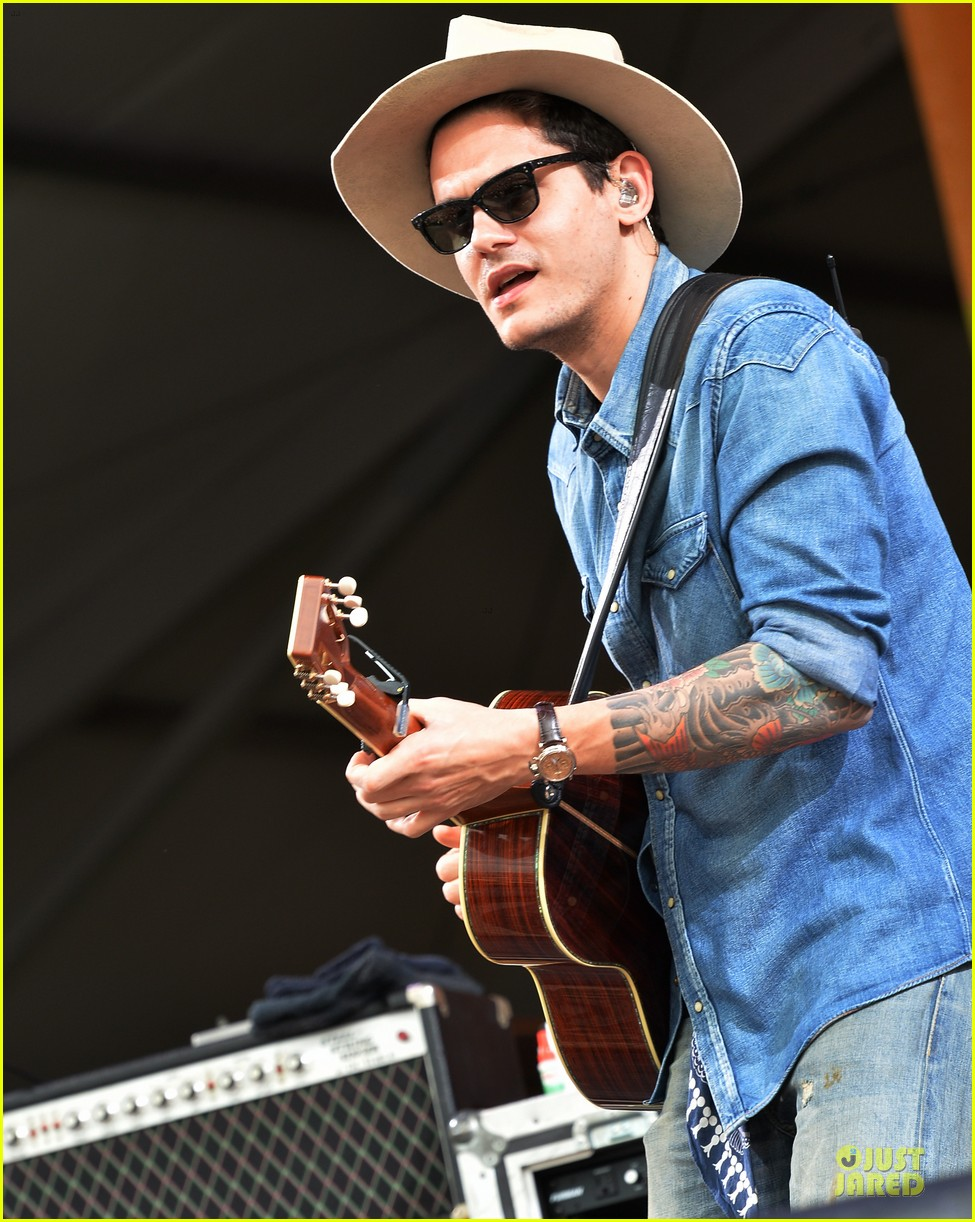 john mayer new orleans jazz heritage music festival 12