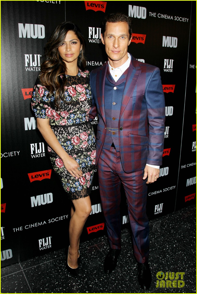 matthew mcconaughey mud screening with camila alves 102855222