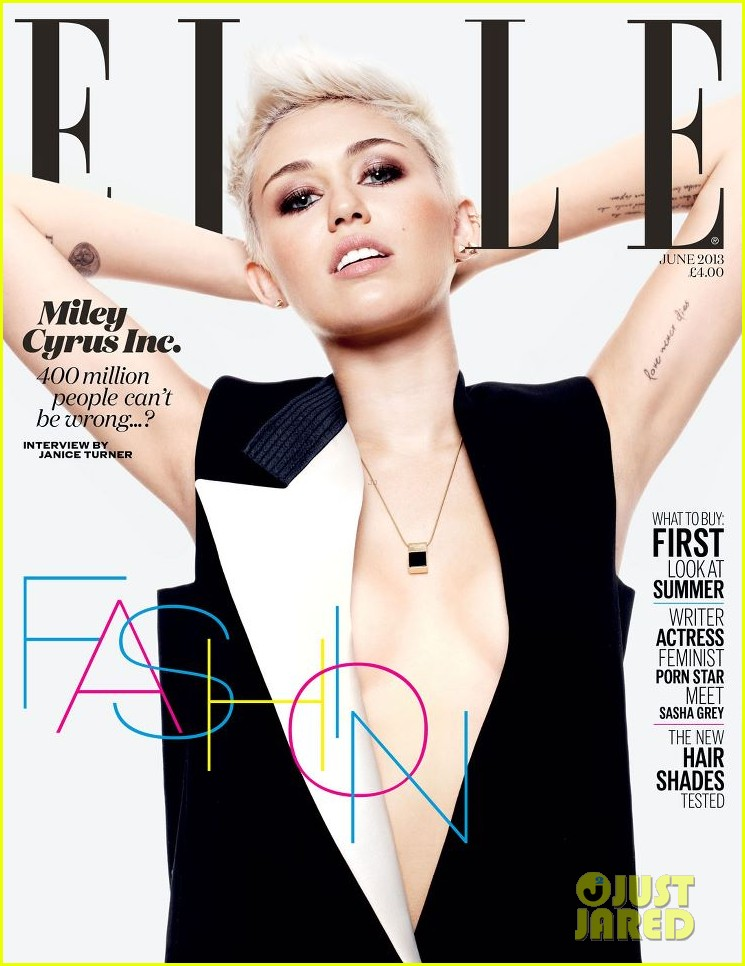 miley cyrus covers elle uk june 2013 01