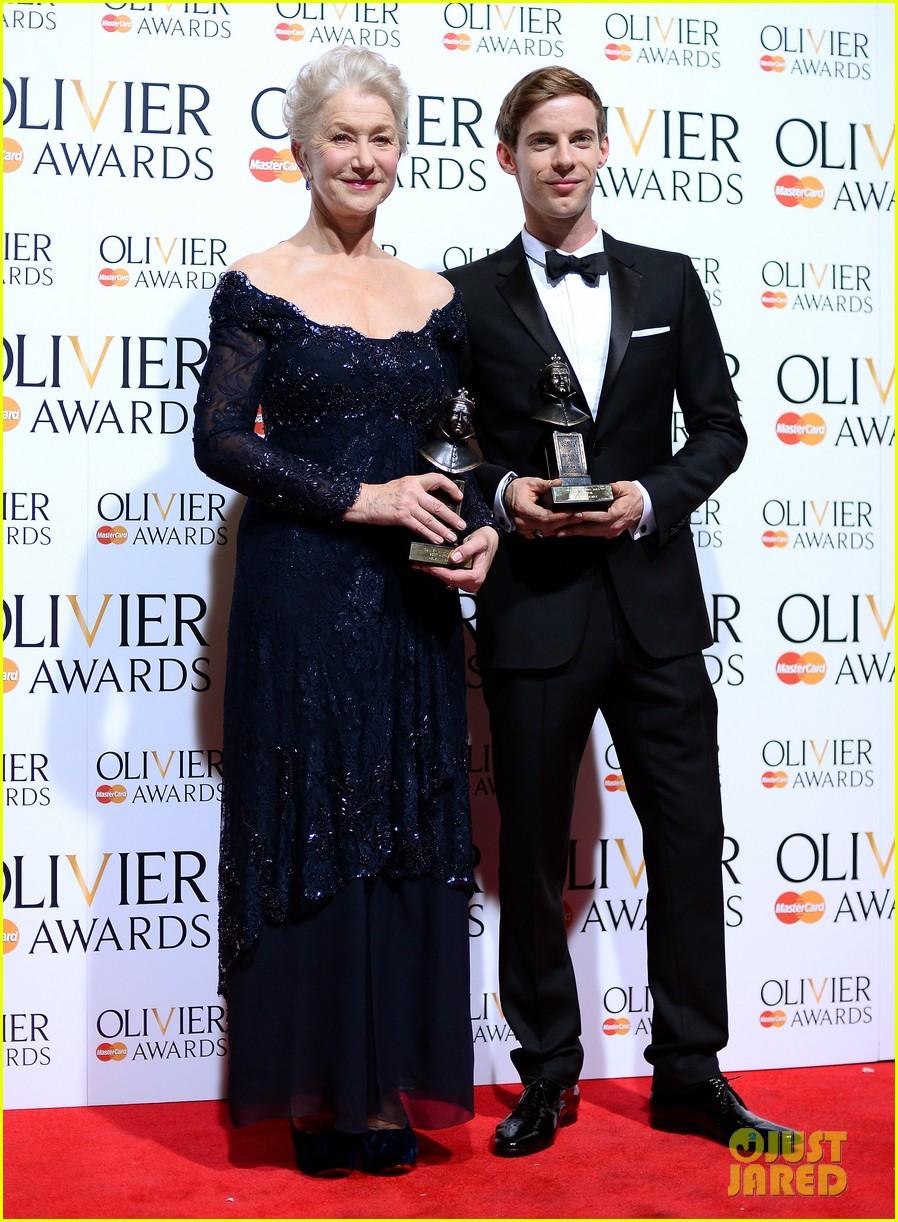 helen mirren damian lewis olivier awards 2013 03