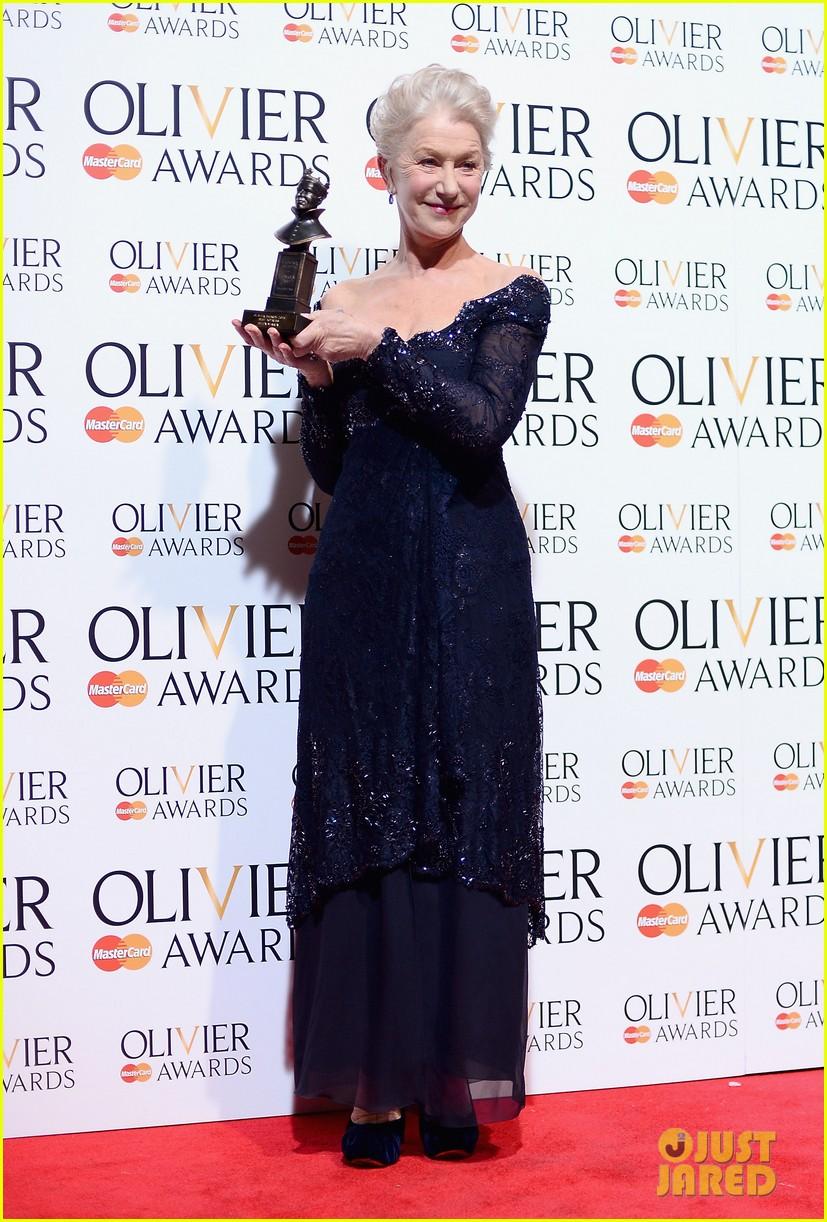 helen mirren damian lewis olivier awards 2013 082860030