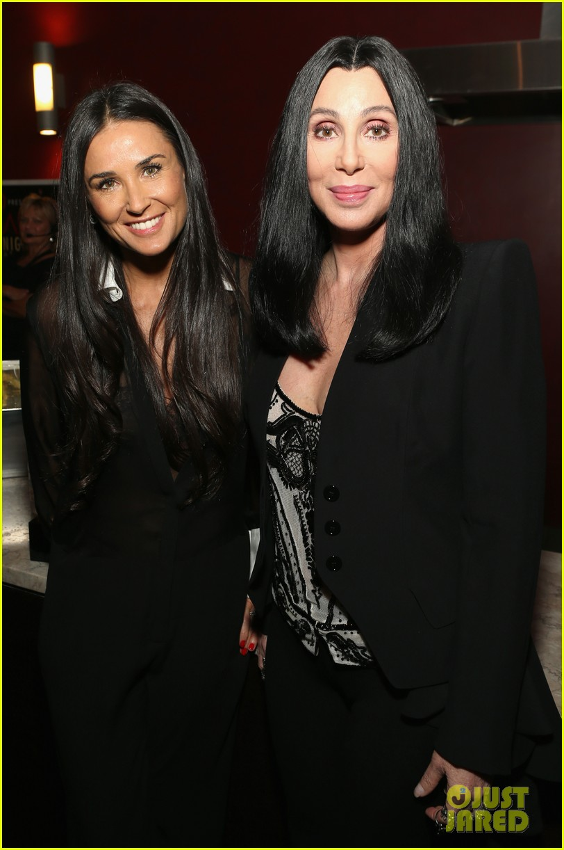 demi moore cher afi night at the movies event 04