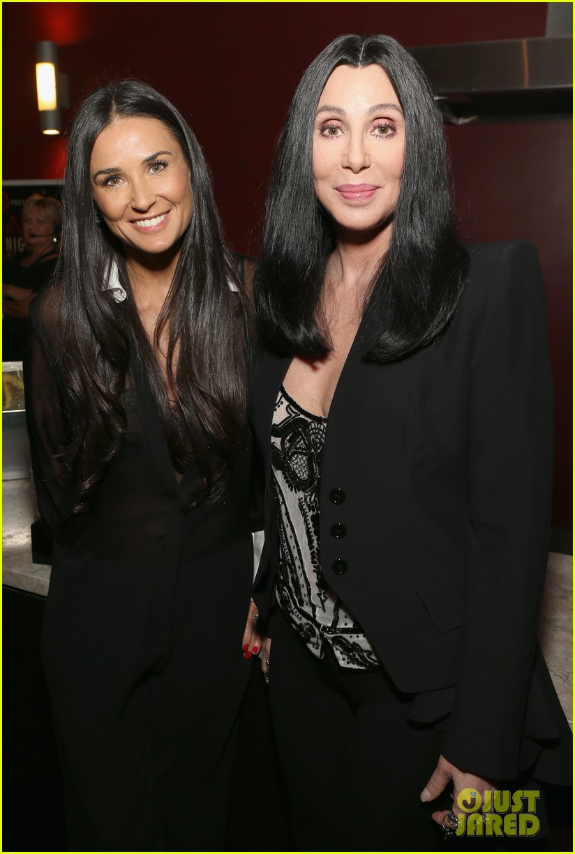 demi moore cher afi night at the movies event 252857665