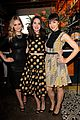 dianna agron olivia munn vogue triple threats dinner 03