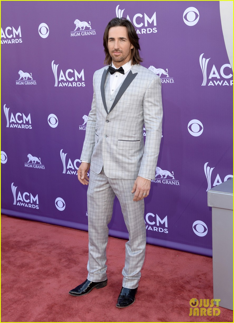 jake owen eric church acm awards 2013 red carpet 122845244