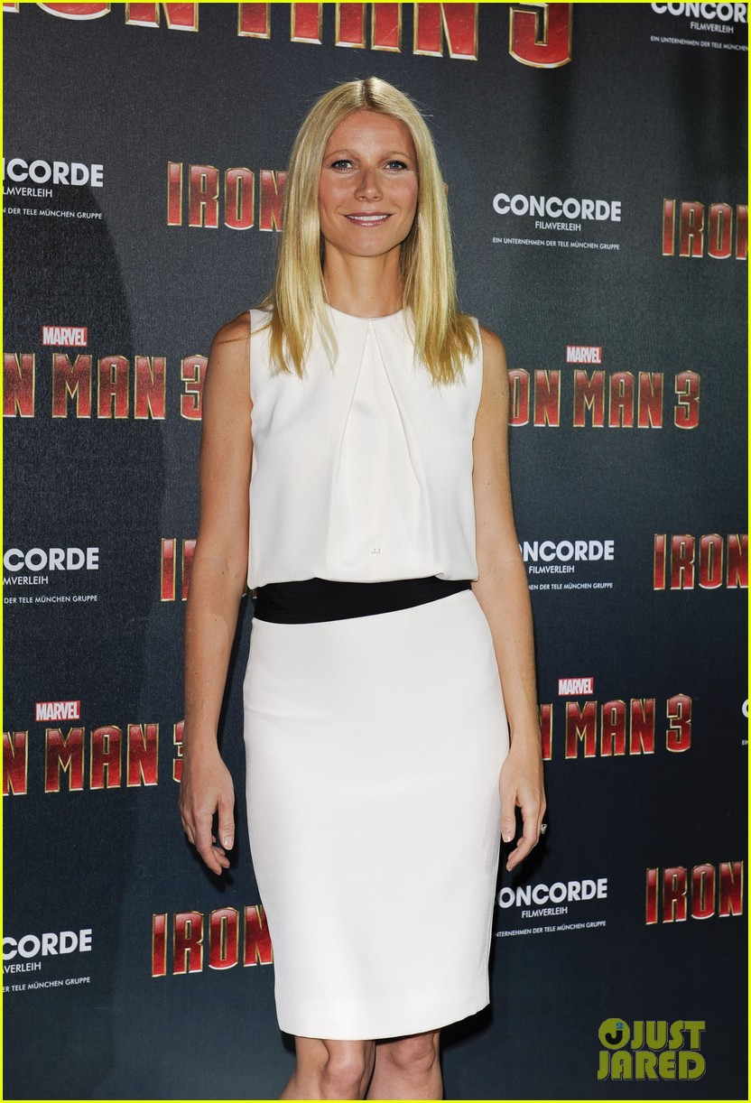 gwyneth paltrow robert downey jr iron man 3 germany photo call 302848174