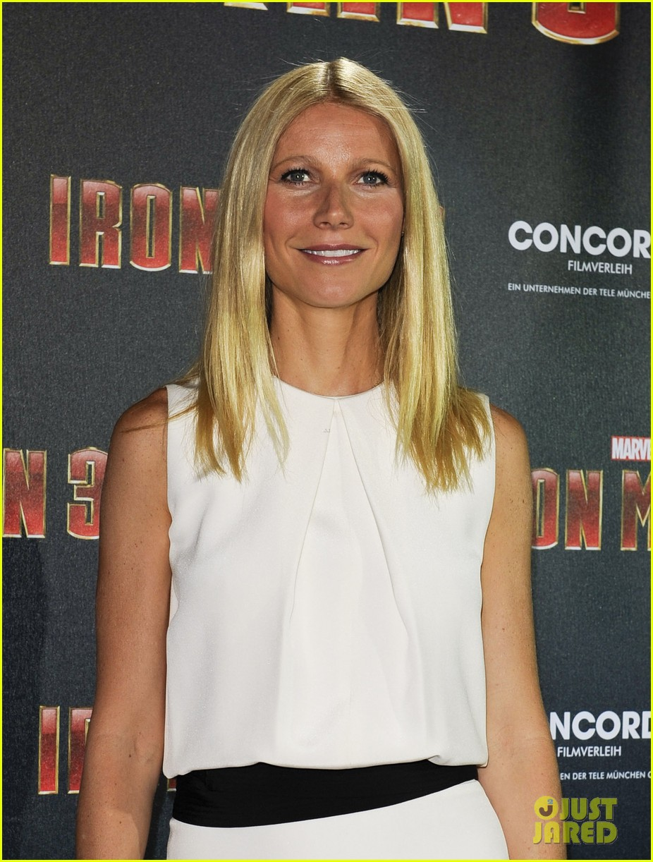 gwyneth paltrow robert downey jr iron man 3 germany photo call 312848175