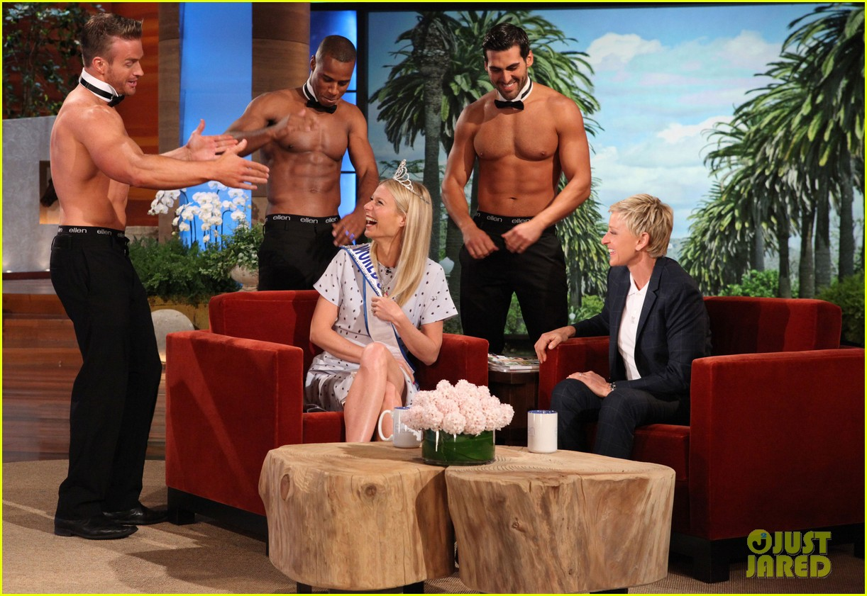 gwyneth paltrow most beautiful woman ceremony on ellen 012858448