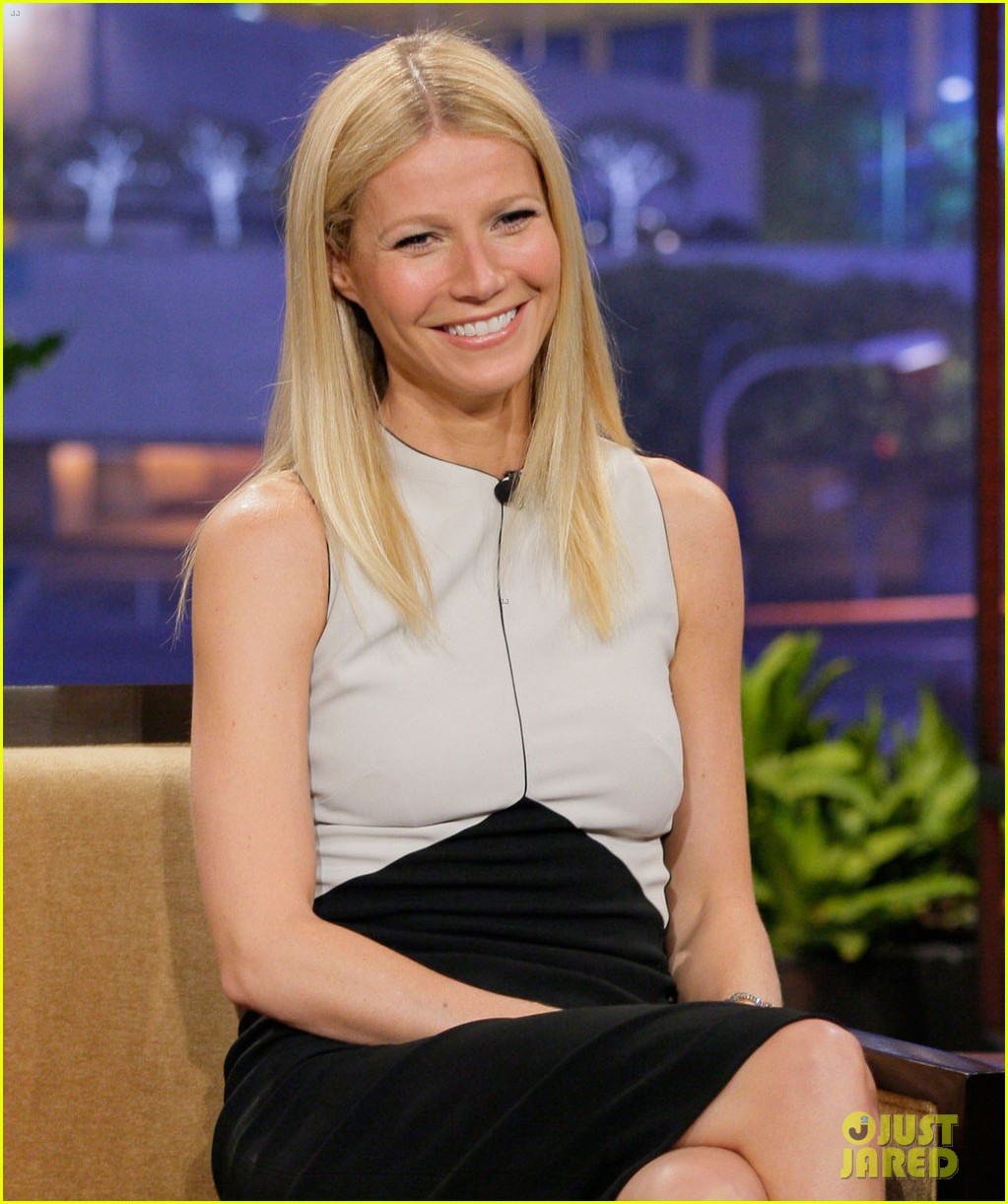 gwyneth paltrow tonight show with jay leno appearance 022858228