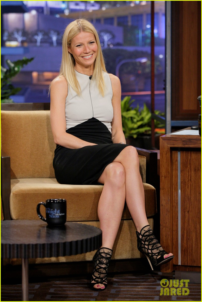 gwyneth paltrow tonight show with jay leno appearance 042858230