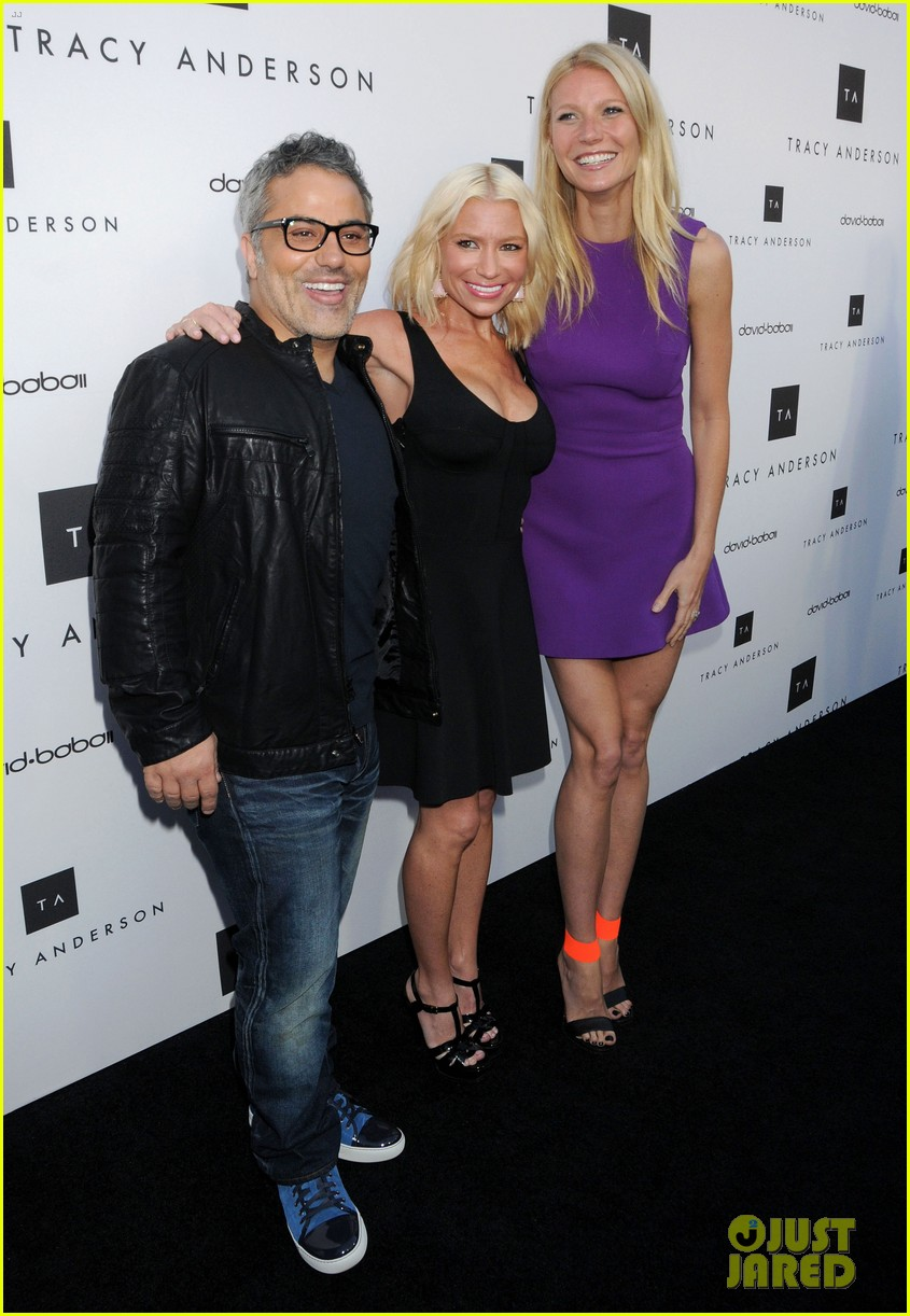 gwyneth paltrow tracy anderson studio opening 11