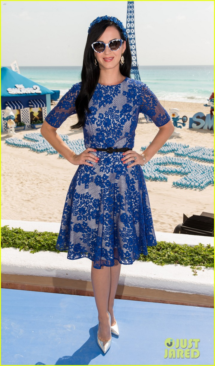 katy perry neil patrick harris smurfs 2 at summer of sony 152855744