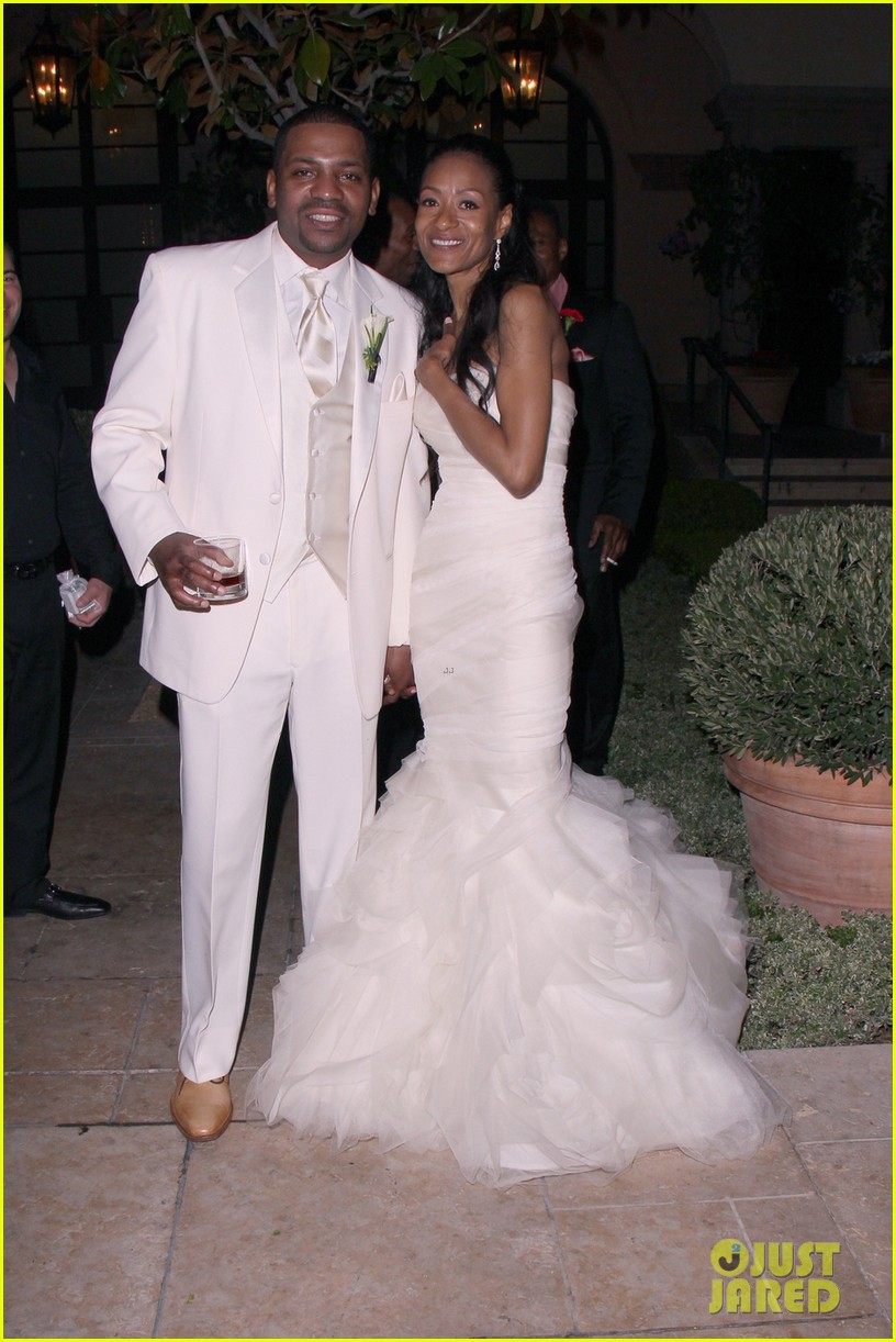 mekhi phifer wedding photos with reshelet barnes 03