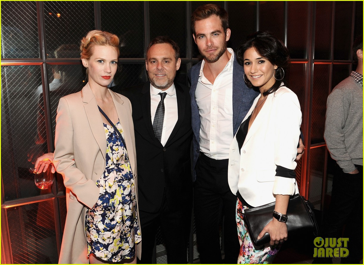 chris pine alice eve star trek at coach charity event 152847542