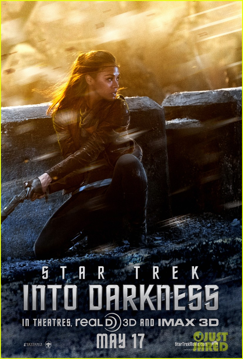 chris pine star trek into darkness trailer posters 05