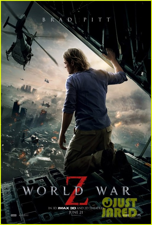 brad pitt new world war z poster 012843244
