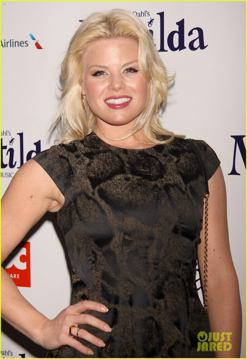 zachary quinto megan hilty matilda opening night 182848132