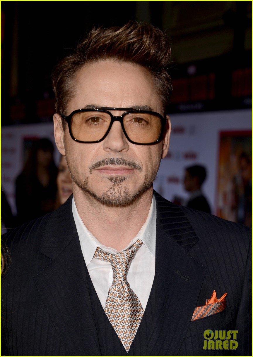 robert downey jr guy pearce iron man 3 premiere 15