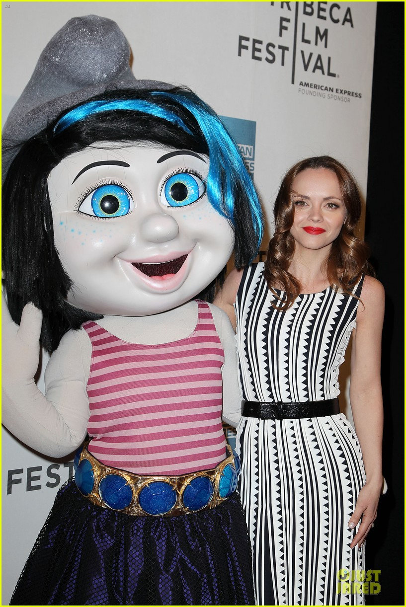 Christina Ricci   The Smurfs  Tribeca Screening