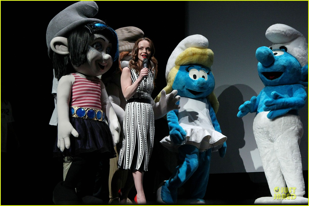 christina ricci the smurfs tribeca screening 052859394