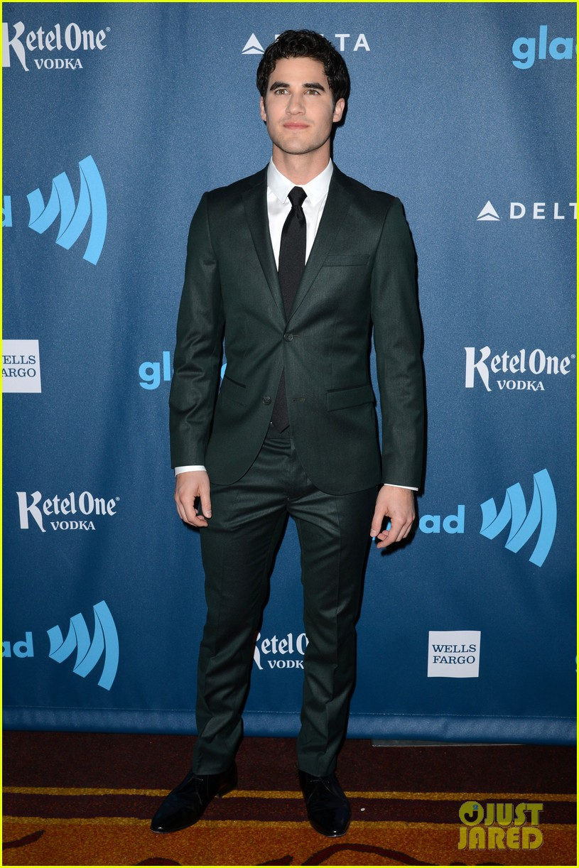 naya rivera darren criss glaad media awards 2013 05