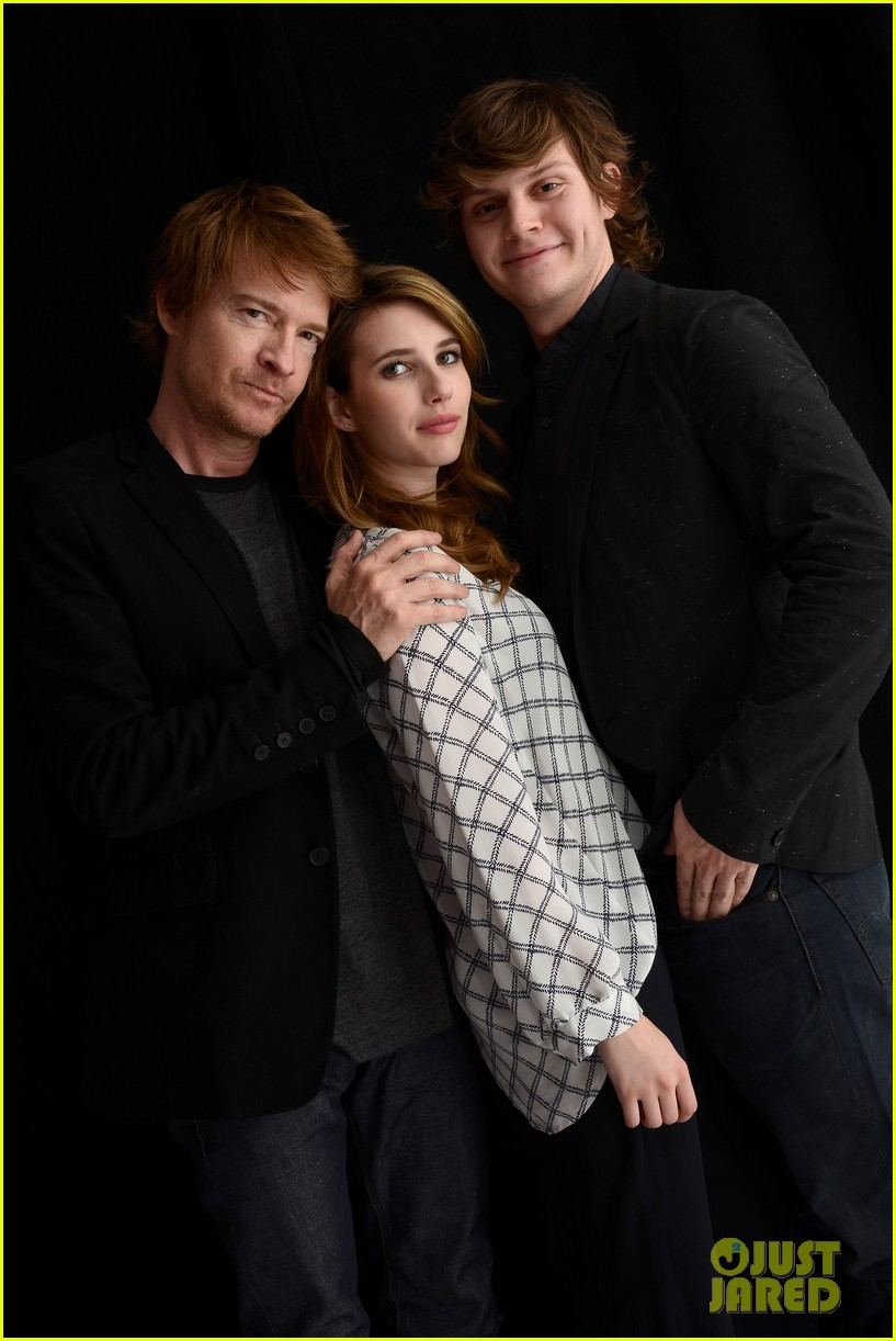 emma roberts evan peters adult world tribeca portraits 03