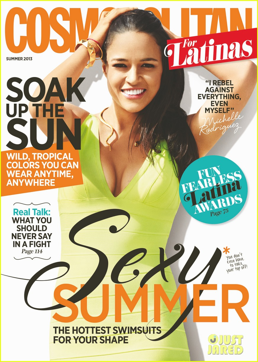 michelle rodriguez covers cosmopolitan for latinas 012857174