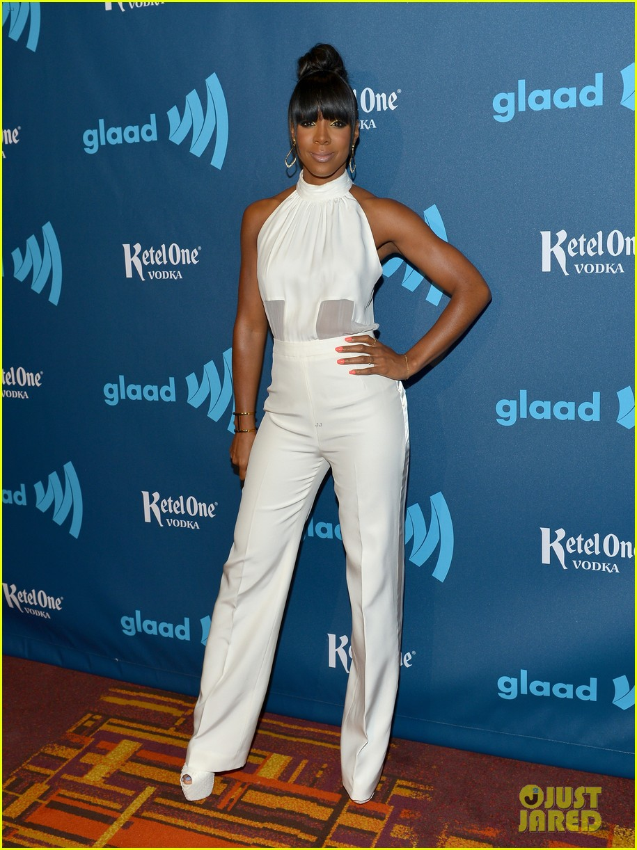 kelly rowland ashley benson glaad media awards 2013 01