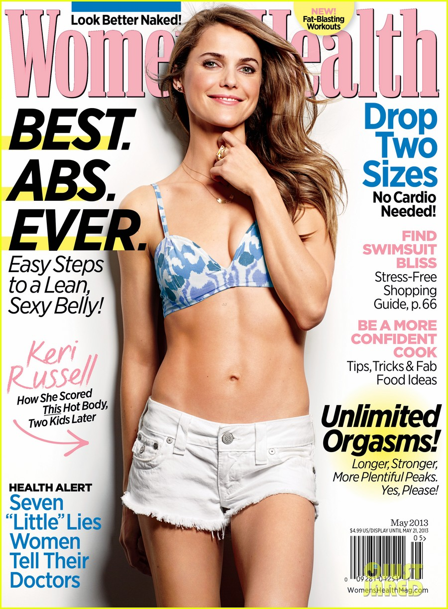 keri russell bares abs for womens health may 2013 012848304