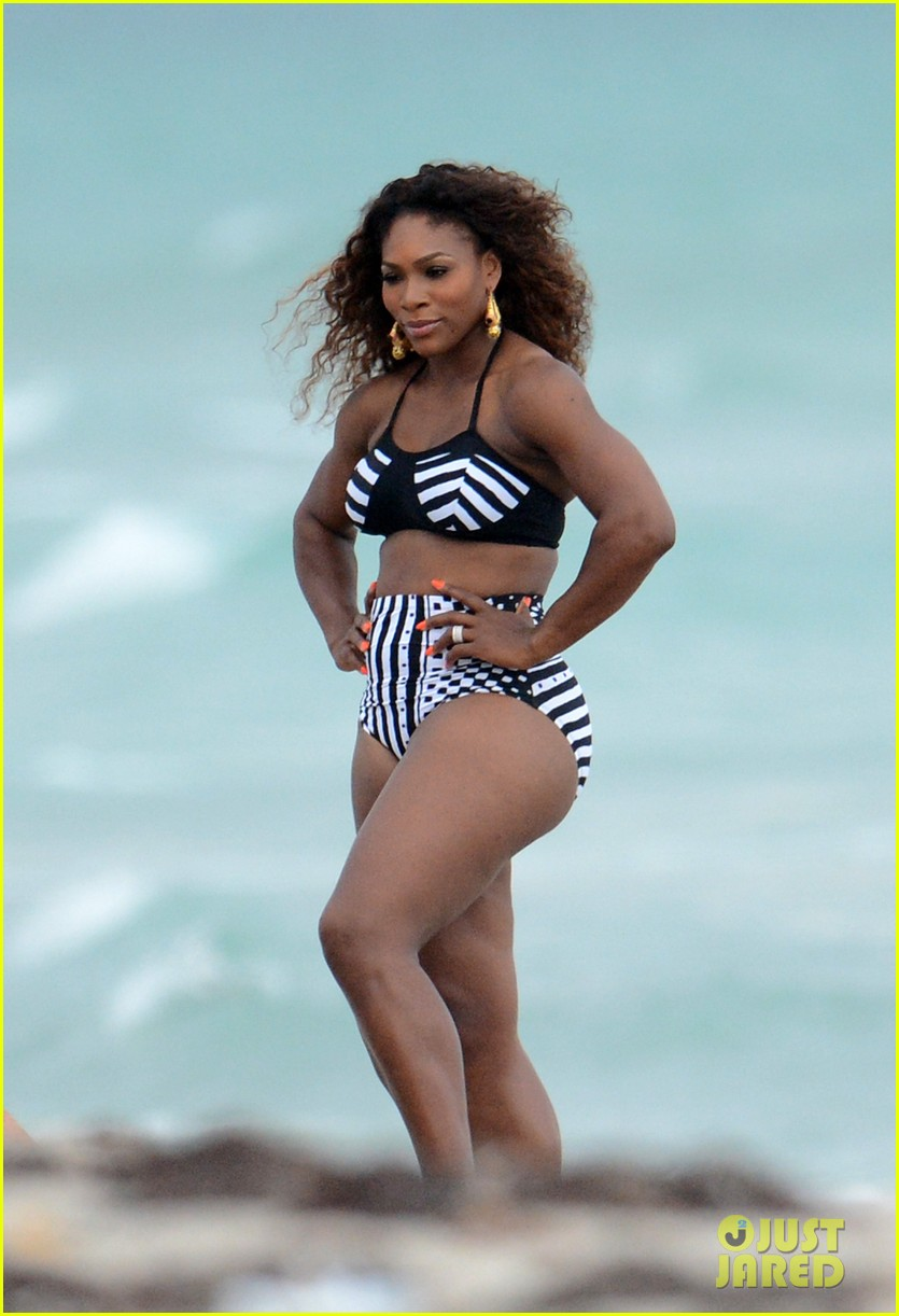 serena williams bikini beach photo shoot 06