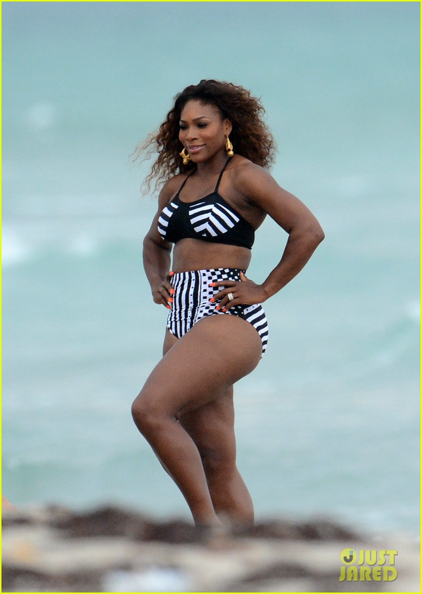 serena williams bikini beach photo shoot 08