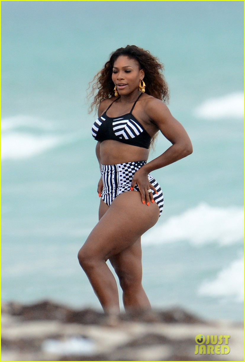 serena williams bikini beach photo shoot 172851340