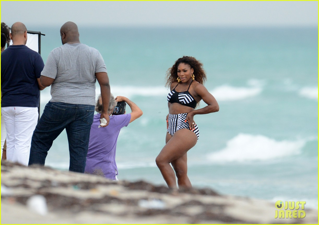 serena williams bikini beach photo shoot 20
