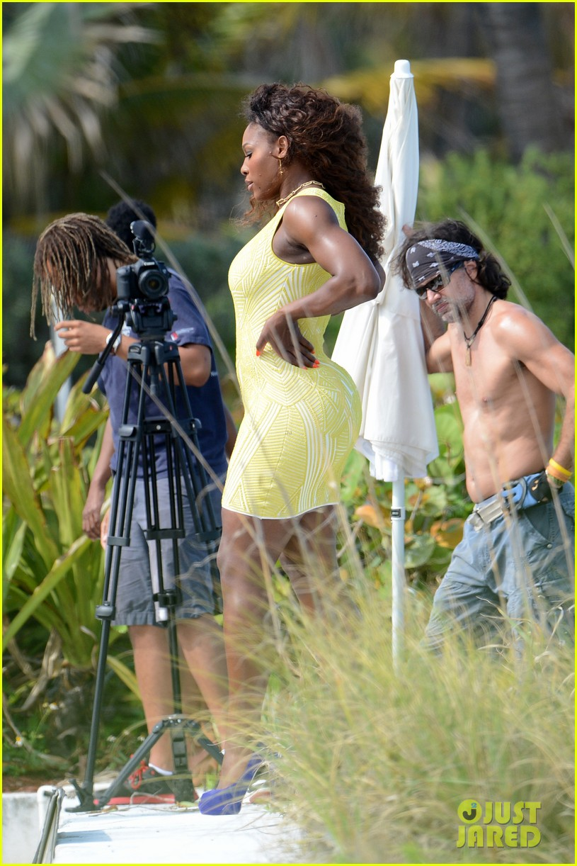 serena williams bikini beach photo shoot 302851353