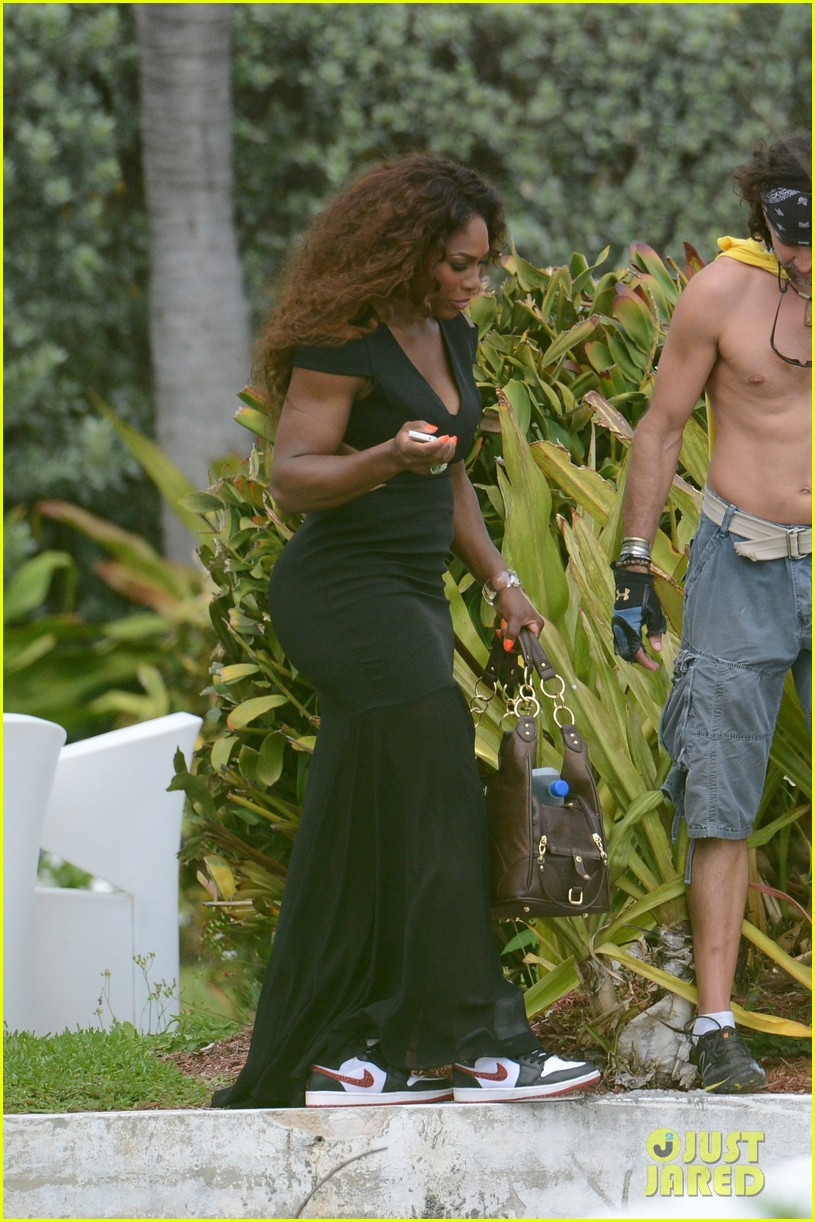 serena williams bikini beach photo shoot 402851363