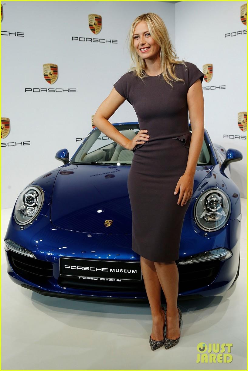 maria sharapova porsche new brand ambassador 01