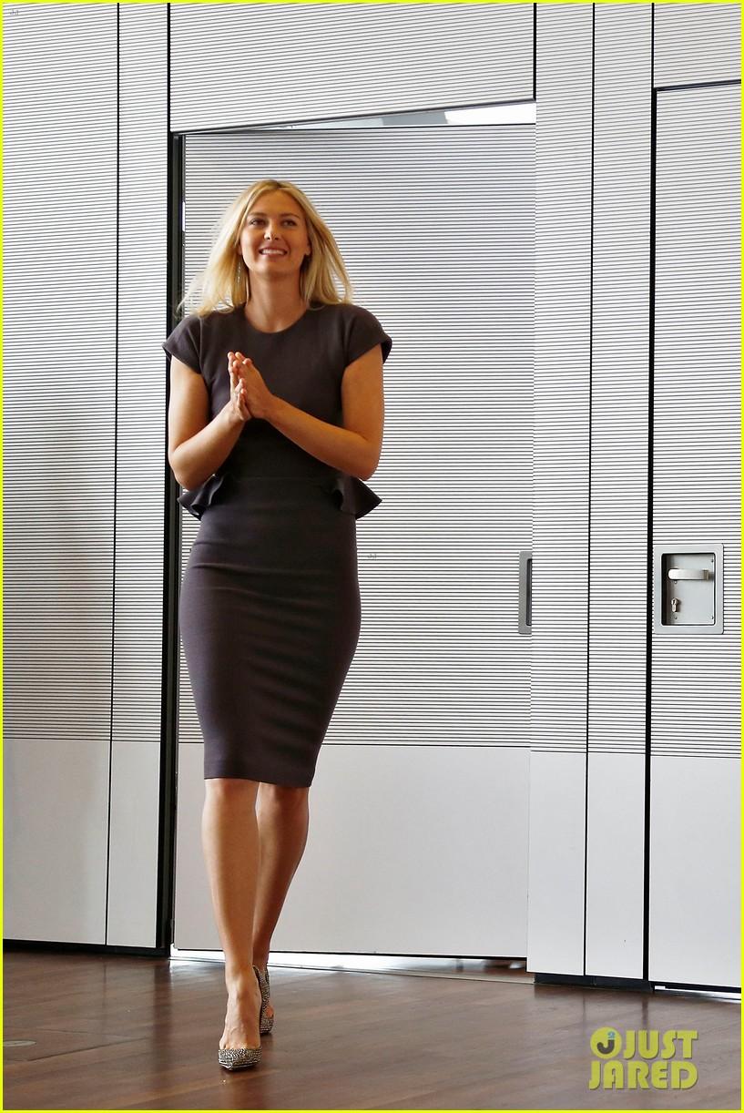 maria sharapova porsche new brand ambassador 052855780