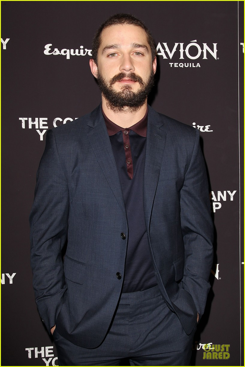 shia labeouf the company you keep new york premiere 092841718