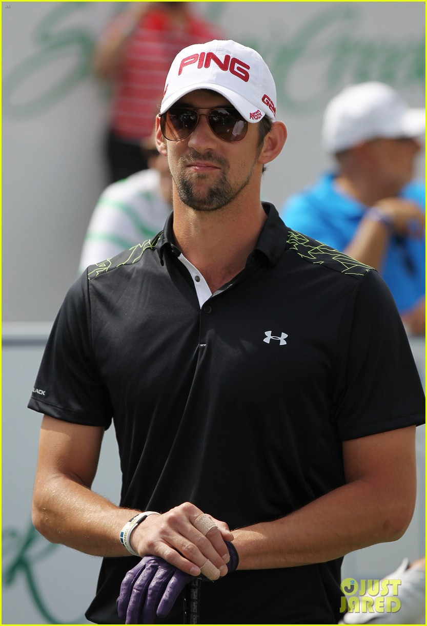 will smith michael phelps celebrity golf tournament 062844701