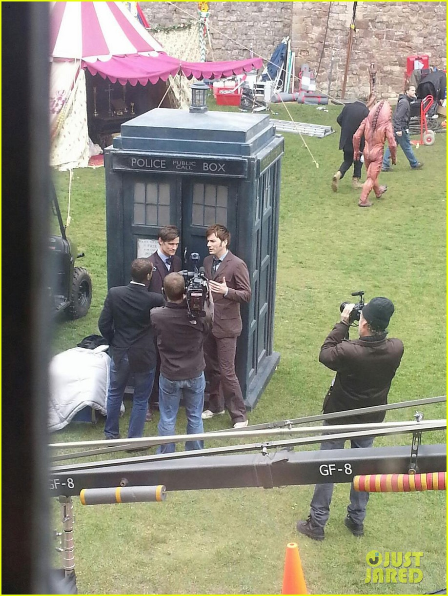 david tennant matt smith doctor who unite2852420