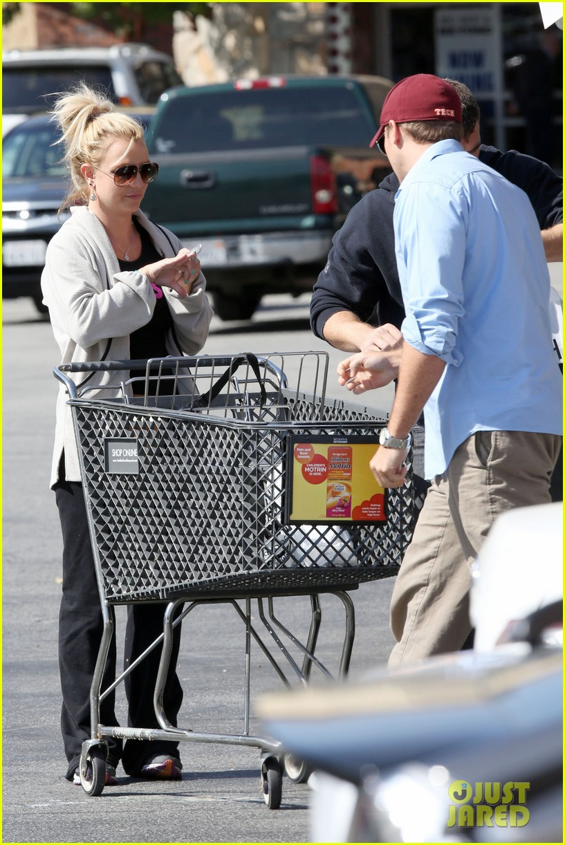 britney spears david lucado breakfast shopping duo 272858081