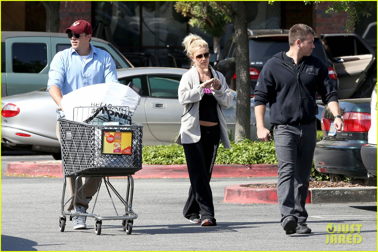 britney spears david lucado breakfast shopping duo 302858084